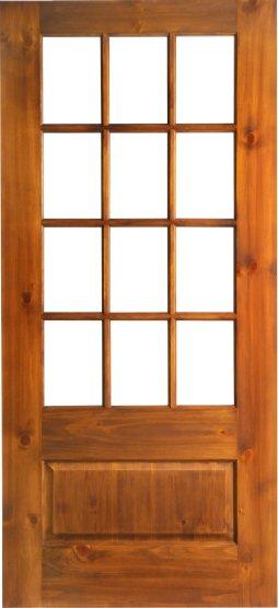 12 Lite 1 Panel Raised