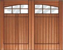 arched glass garage doors, custom garage doors