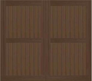 BROOK 25 ALTERNATIVE COMPOSITE GARAGE DOOR